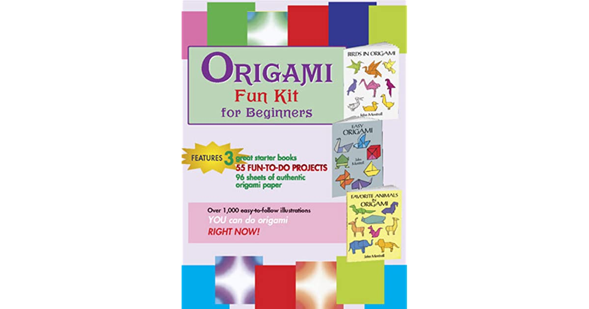 Origami Fun Kit for Beginners by Dover Publications Inc