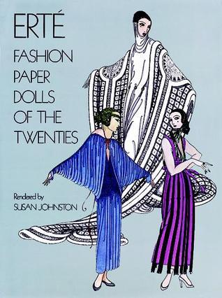 Erté - Fashion Paper Dolls of the Twenties by Erté