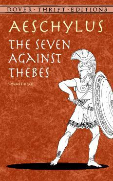 The Seven Against Thebes book cover