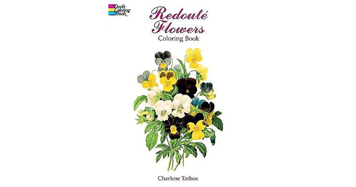 COLORING BOOK Redoute Flowers Coloring Book By NOT A