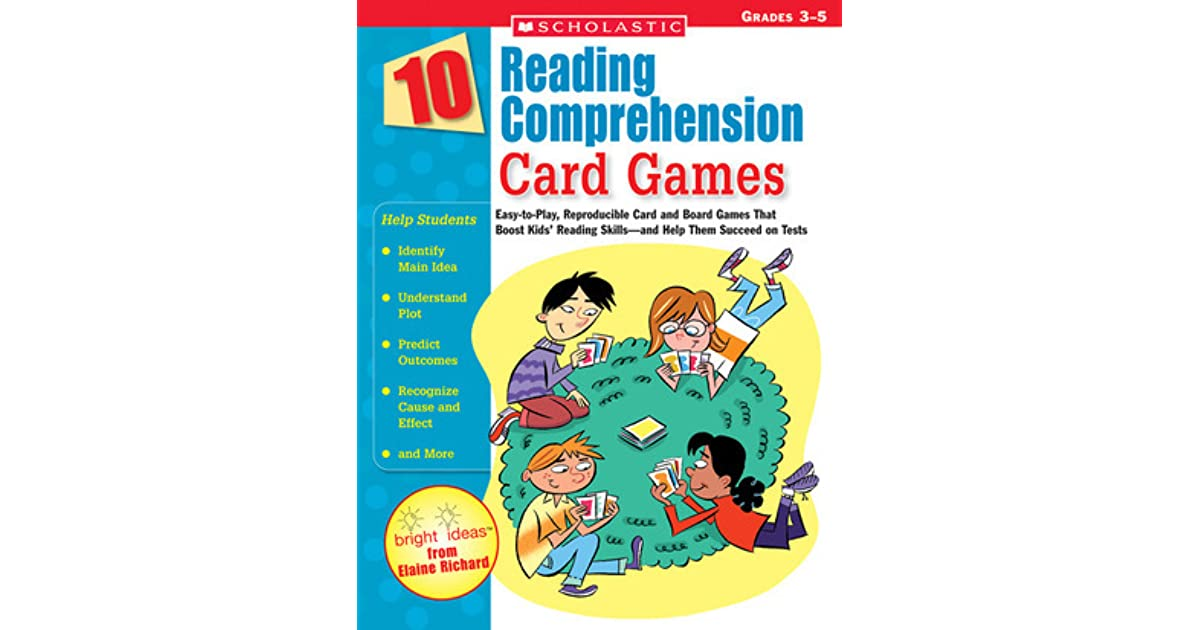 10 Reading Comprehension Card Games: Easy-to-Play