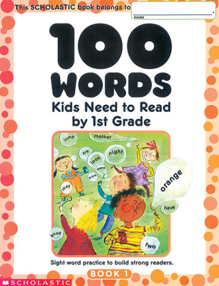 100 words kids need to read by 2 grade, 2003