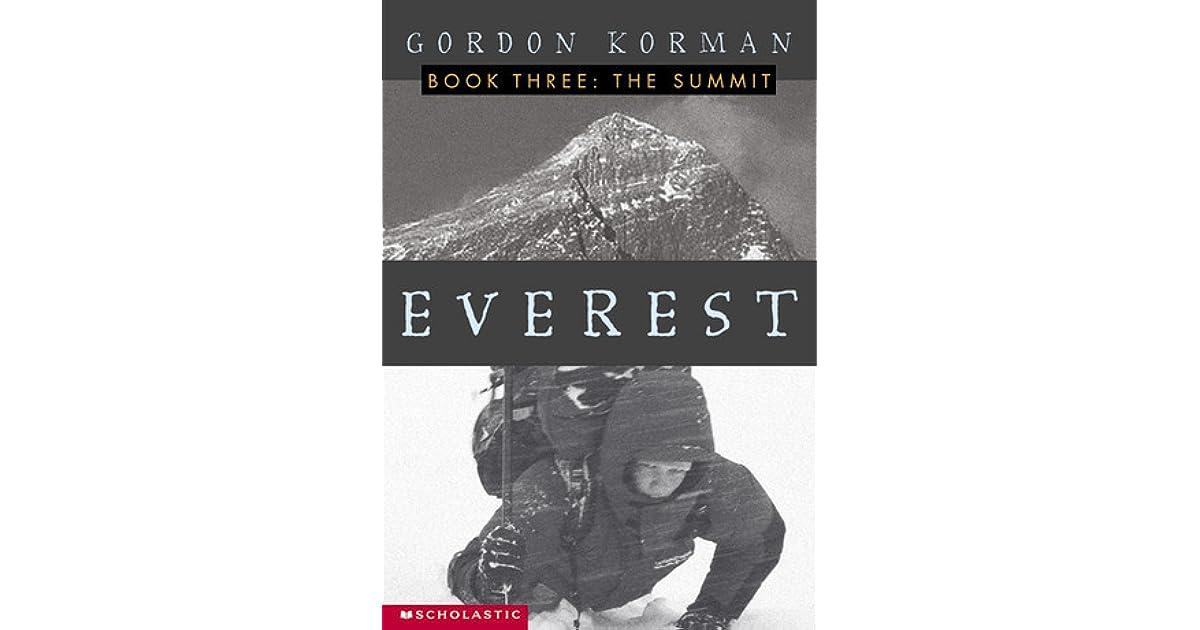 Cannonball 22: Everest, Book 3: The Summit by Gordon Korman
