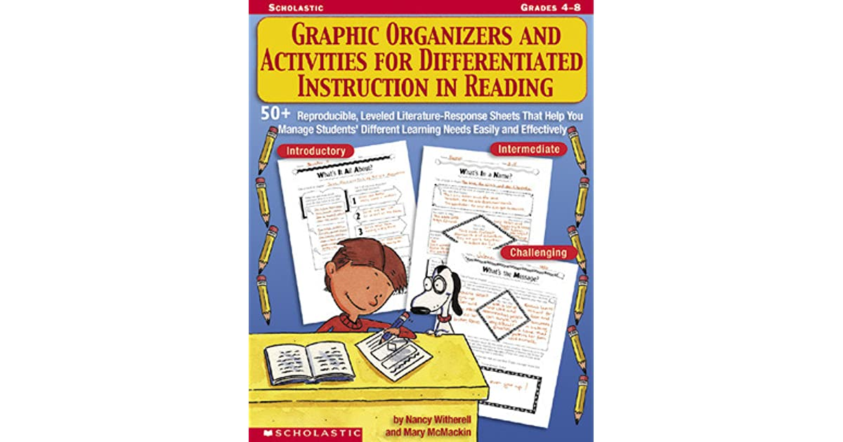 Graphic Organizers And Activities For Differentiated Instruction In