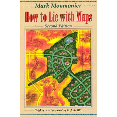 How to lie with maps by mark monmonier fandeluxe Images
