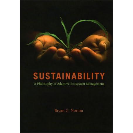 Sustainability: A Philosophy of Adaptive Ecosystem Management