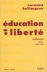 Éducation et liberté