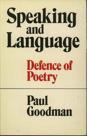 Speaking And Language: Defence Of Poetry