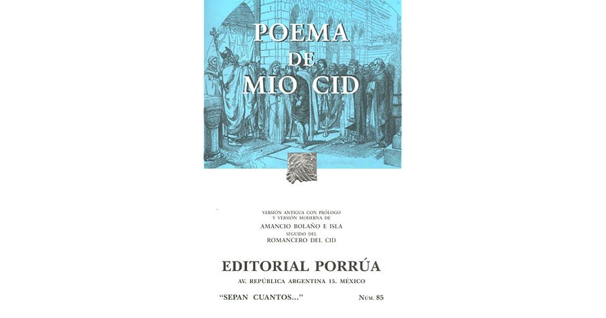 Mariel Hogwarts 10 Mexicos Review Of Poema De Mio Cid