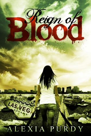 Cover Reign of Blood (Reign of Blood, #1) - Alexia Purdy