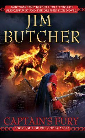 Captain S Fury Codex Alera 4 By Jim Butcher