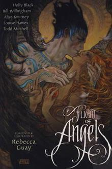 A Flight of Angels by Rebecca Guay