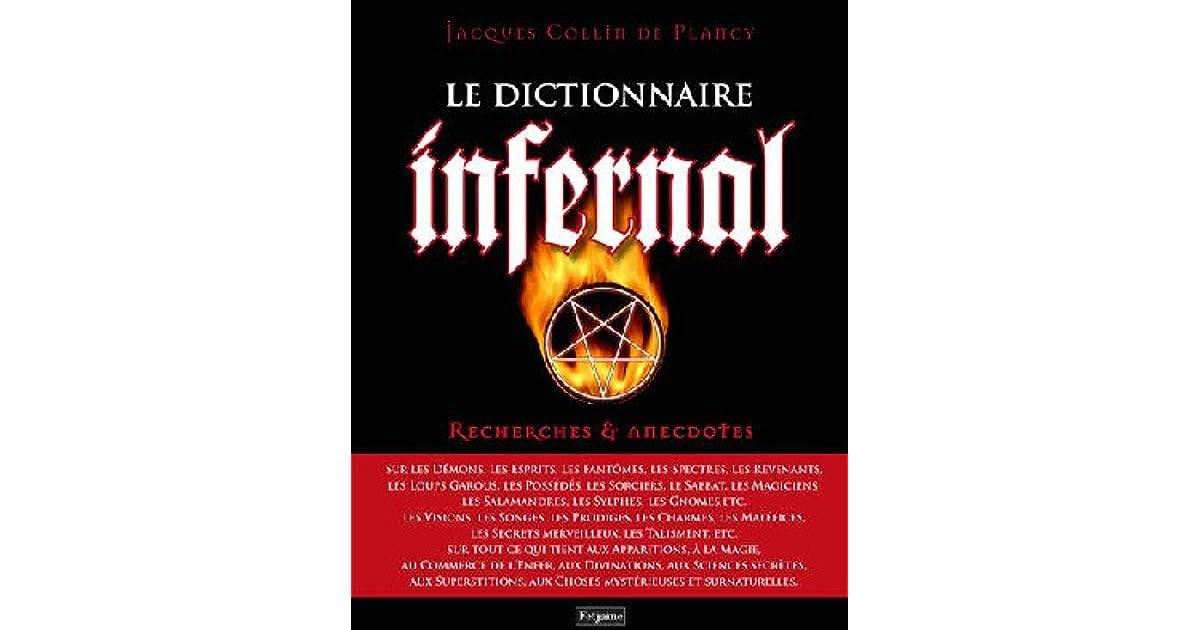 Dictionnaire Infernal By Jacques Albin Simon Collin De Plancy