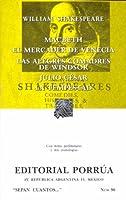 Macbeth. El Mercader de Venecia. Las Alegres Comadres de Windsor. Julio César. La Tempestad. (Sepan Cuantos, #96)
