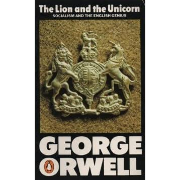 the lion and the unicorn orwell