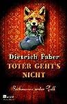 Toter geht's nicht (Bröhmann, #1)