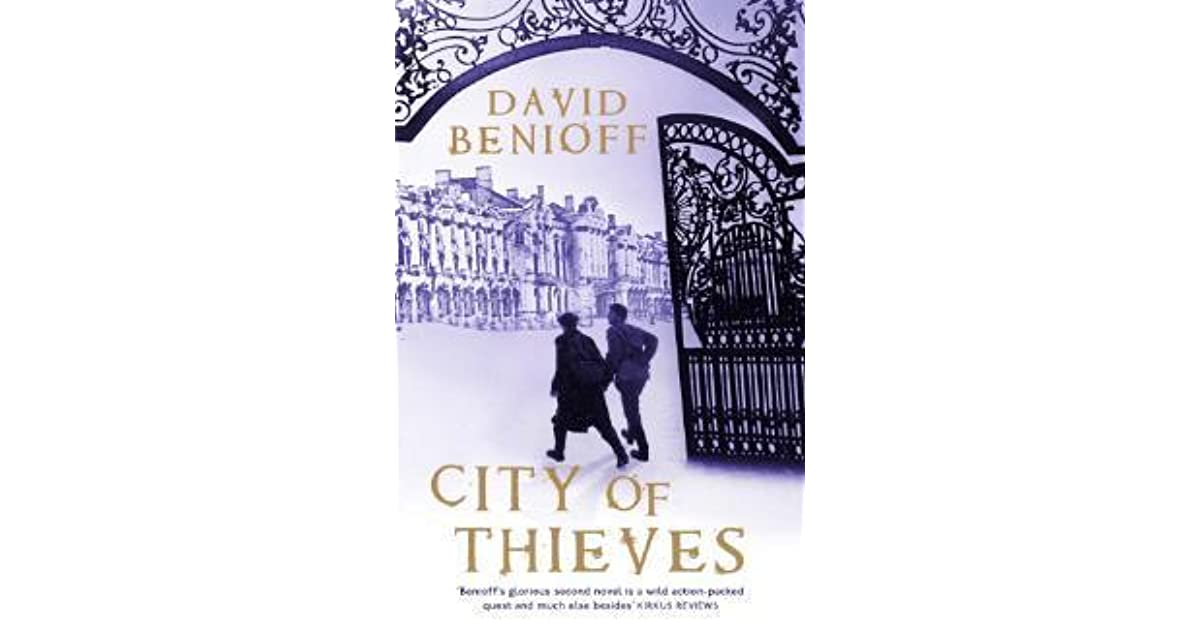 theme analysis in city of thieves a novel by david benioff Theme: selections from the string quartet no 11 in f minor, op 122 by dmitri shostakovich performed by the emerson qt city of thieves by david benioff.