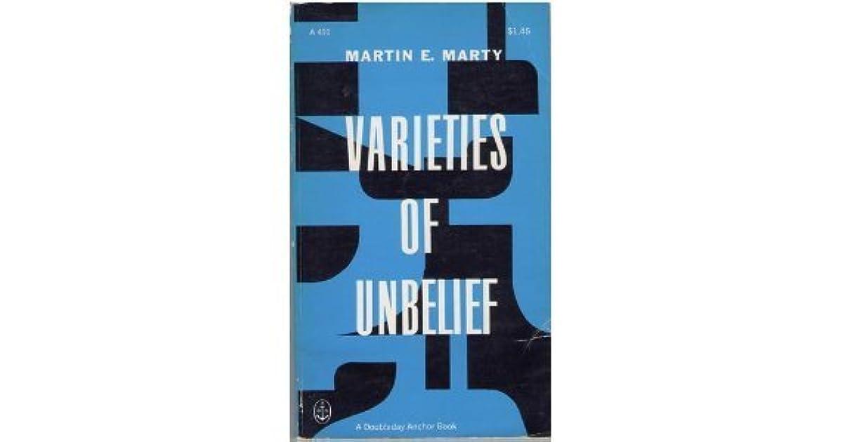 VARIETIES OF UNBELIEF EBOOK