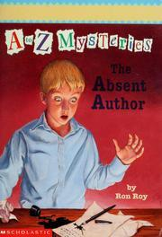 The Absent Author (A to Z Mysteries, #1)