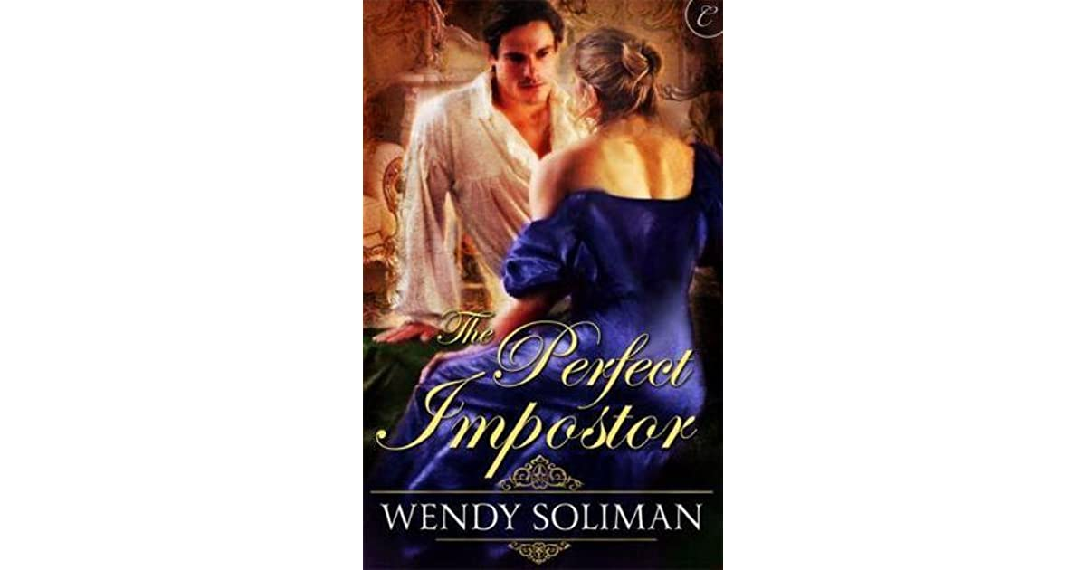 The Perfect Imposter By Wendy Soliman border=