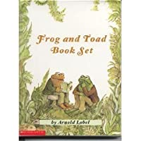 Frog And Toad Book Set: Frog And Toad Are Friends; Frog And Toad Together; Days With Frog And Toad; Frog And Toad All Year  (Frog and Toad #1-4)