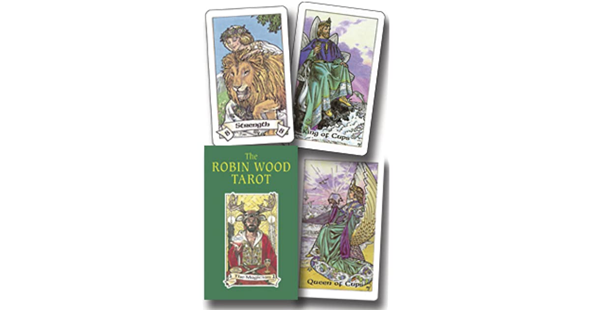 LLEWELLY Robin Wood Tarot Deck