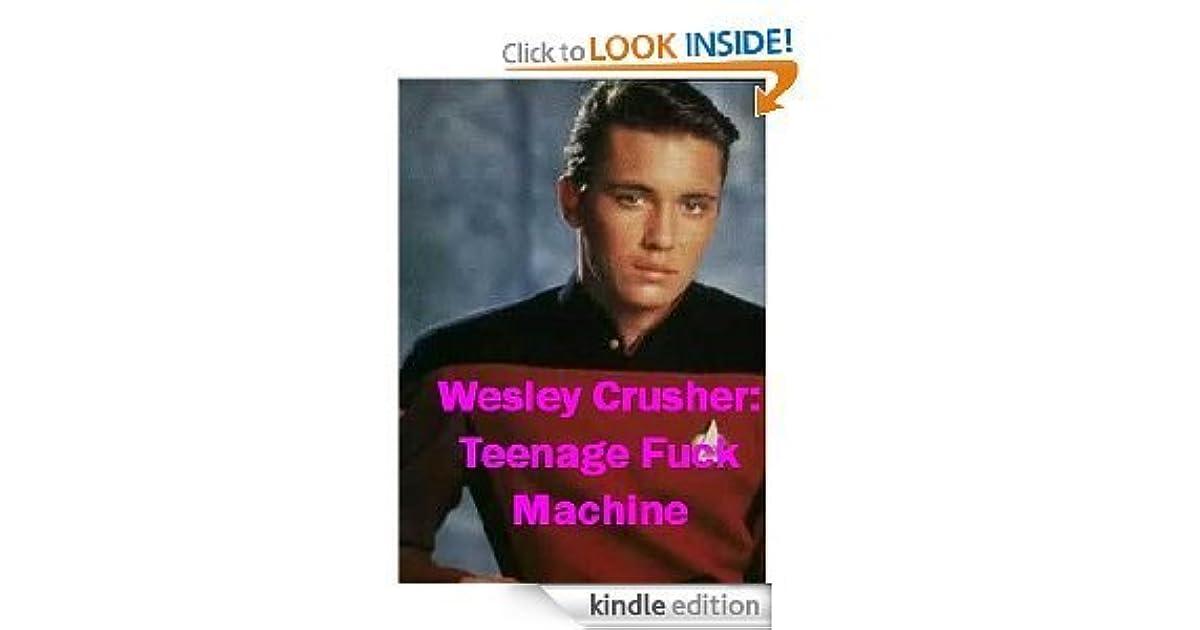 Wesley Crusher Teenage Fck Machine Ved Kitty Glitter-5979