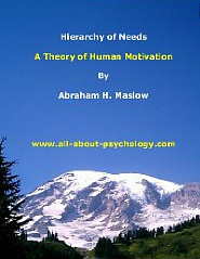 Hierarchy of Needs by Abraham H. Maslow