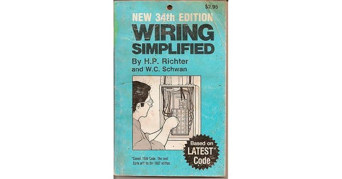 Wiring Simplified by W. Schwan