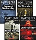 Mister Monday, Grim Tuesday, Drowned Wednesday, and Sir Thursday