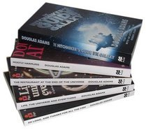 The Hitchhiker's Guide to the Galaxy 5 Book Set by Douglas Adams