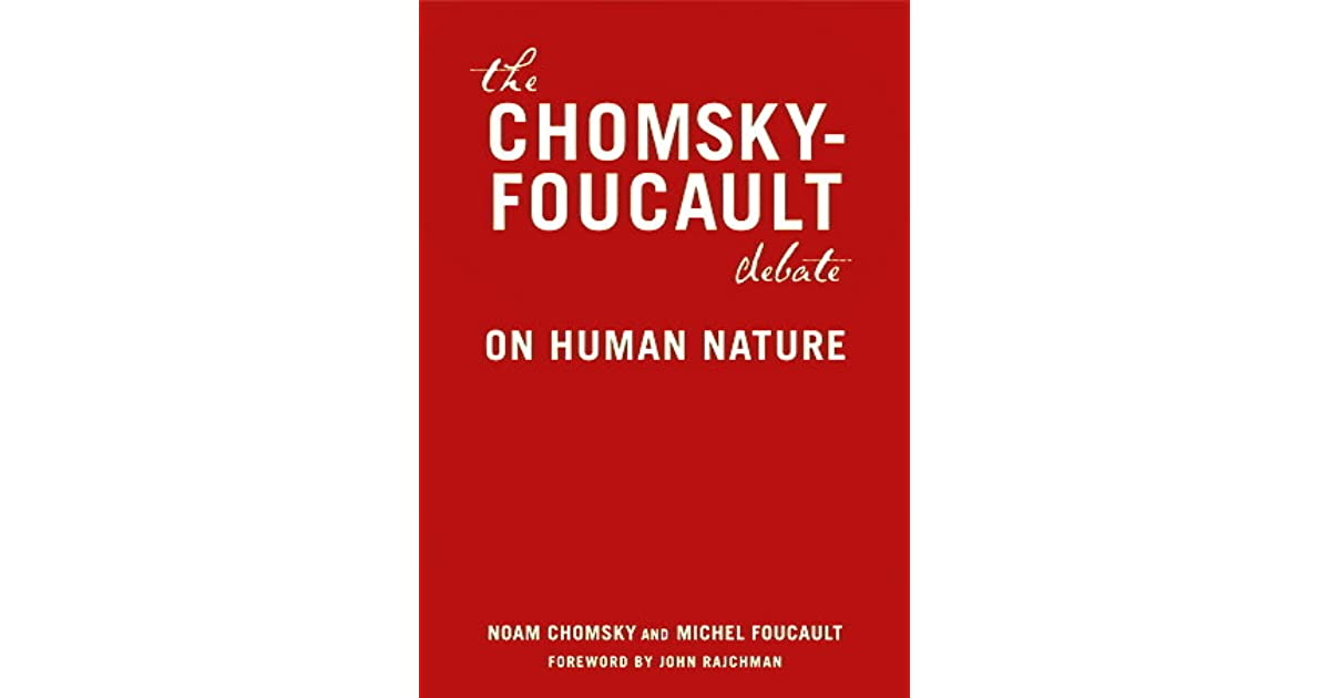 chomsky nature vs nurture