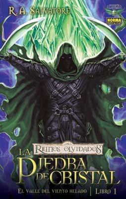 La Piedra de Cristal: La Novela Gráfica (Reinos Olvidados, #4; El Valle del Viento Helado, #1)