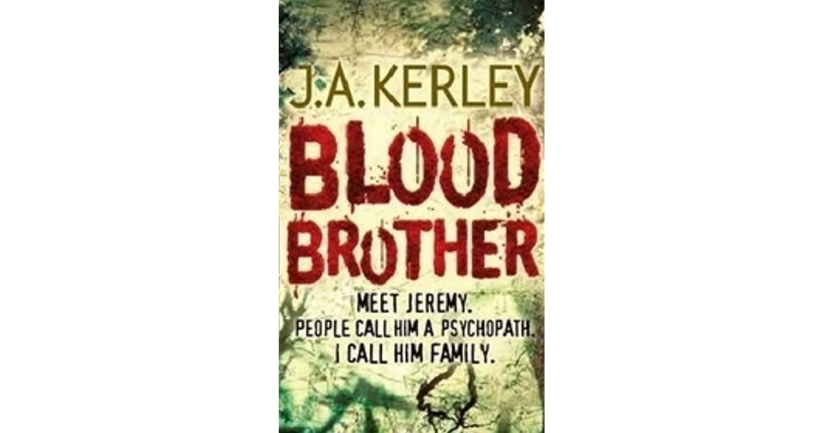 Blood Brother Carson Ryder 4 By Jack Kerley