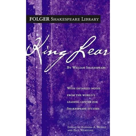the tragic downfall of two men from power in king lear by william shakespeare