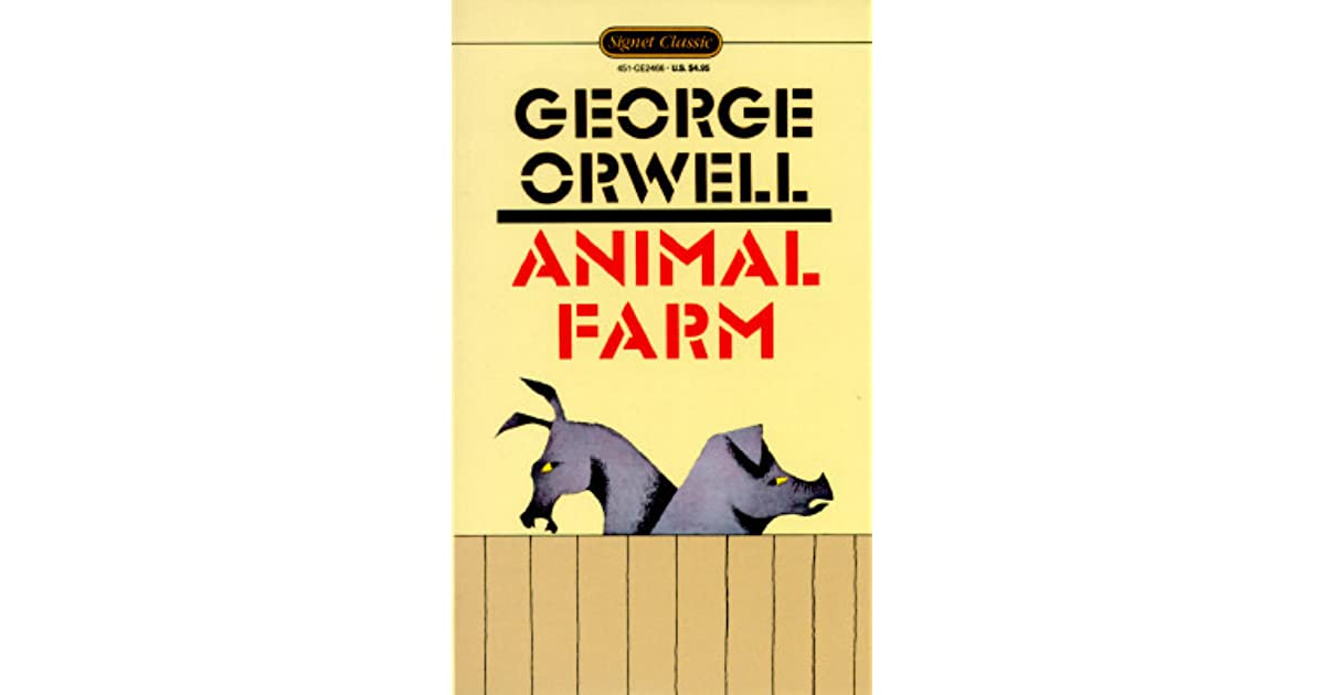 a book review of animal farm Home » lifestyle » opinion and editorial » book review: animal farm by george orwell old major, a prize boar, inspires the mutiny, telling his fellow farm animals about a dream he had in which all animals were united in peaceful harmony, living above the rule of foolish humans.