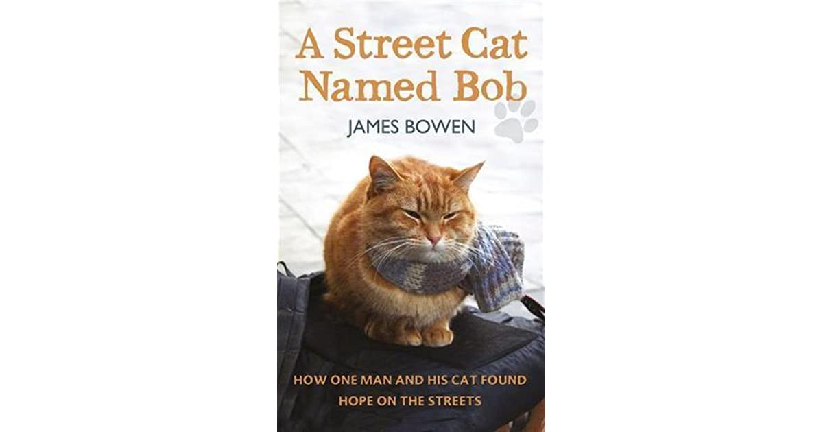A Street Cat Named Bob How One Man And His Cat Found Hope On The Streets By James Bowen
