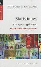 Statistiques:  concepts et applications