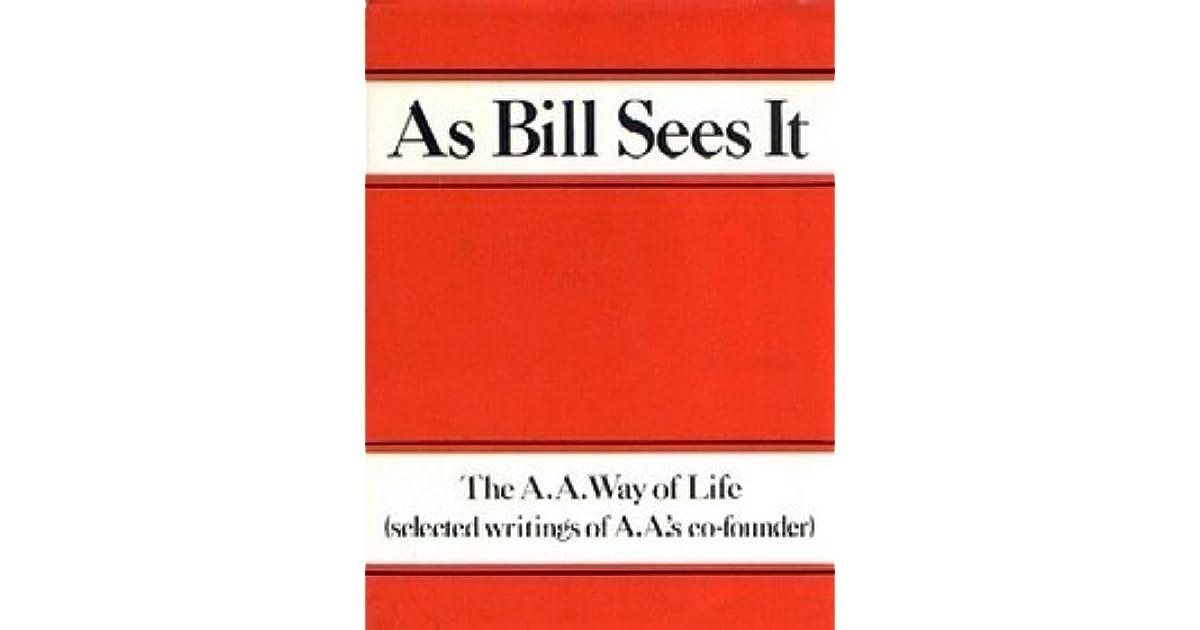 as bill sees it book pdf