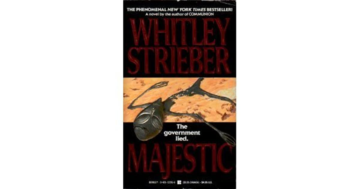 Majestic By Whitley Strieber border=