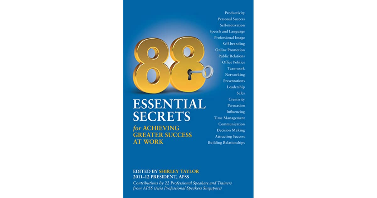88 Essential Secrets for Achieving Greater Success at Work