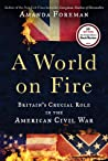 A World on Fire: Britain's Crucial Role in the American Civil War