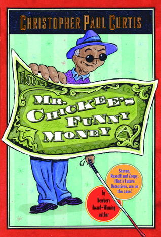 Mr. Chickee's Funny Money cover art with link to Goodreads page