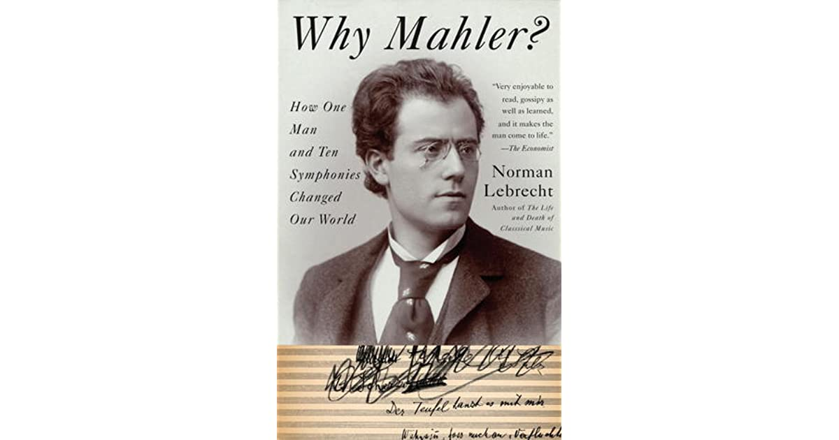 Why Mahler? Norman Lebrecht and the Construction of Jewish
