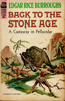 Back to the Stone Age by Edgar Rice Burroughs