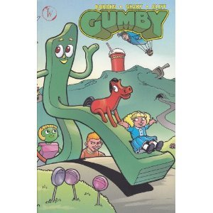 Gumby The Collected Edition Wildcard Ink Comics by Bob Burden