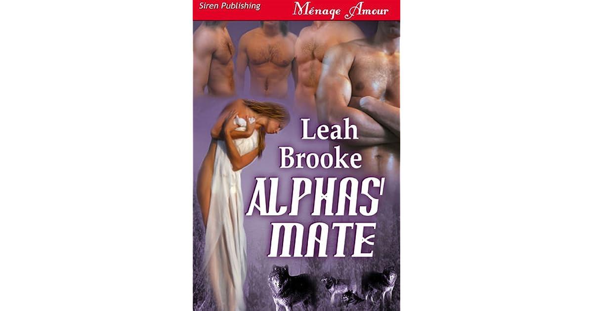Ebook Alphas Mate By Leah Brooke