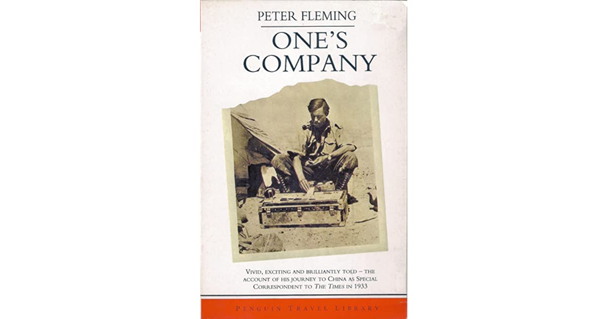 One's Company : A Journey to China in 1933