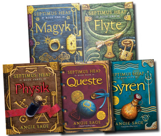 Septimus Heap Collection: Magyk, Flyte, Physik, Queste, Syren