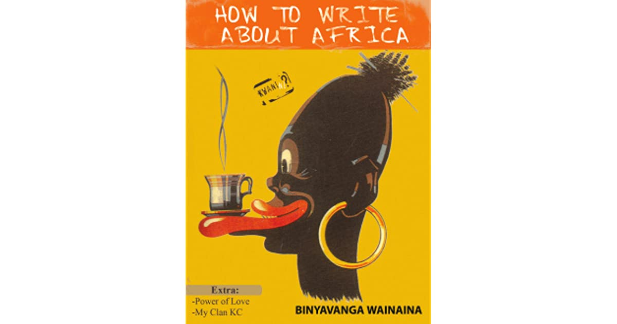 how to write about africa buy
